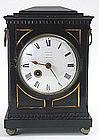 English Regency antique bracket clock, Camberwell