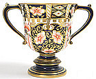 Royal Crown Derby witches pattern two-handled cup, 6299