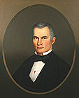 Horace Bundy portrait painting of Adventist preacher