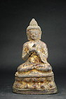 Rare Statue of Buddha, Yuan or Early Ming Dynasty