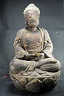 Statue of Buddha Amithaba, China, 18th C.