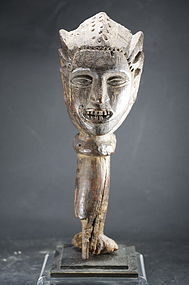 Anthropomorphic Dance Crest, Nigeria, Idoma Peoples