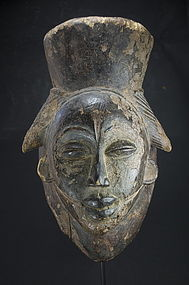 Black Feminine Mask, Punu Peoples