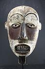 Three Color Mask, Bakongo Peoples