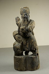 Statue of God Chao Kung Ming, Ca. 14th C.