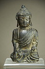 Fragmentary Statue of Buddha, China, Early Ming.