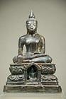 Statue of Buddha, Burma, Early 18th C.