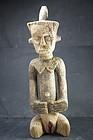 Rare Feminine Figurine, Dengese Peoples