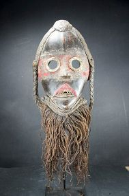 "Important ""Zakpai"" Mask, Dan Peoples"
