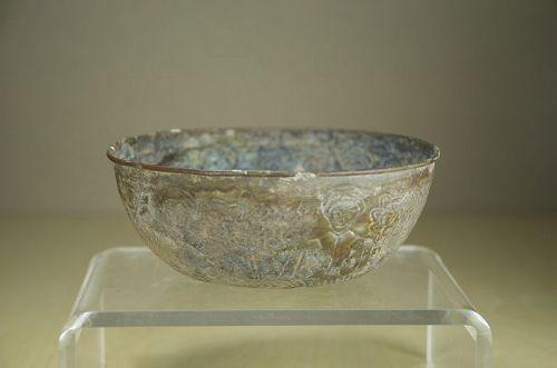 Important Gilt Bronze Cup, Islamic Art, Ca. 1§th C.