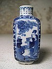 Porcelain Snuff Bottle, China, 19th C.