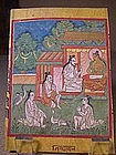Buddhist Miniature Painting 3, Tibet, 19th C.