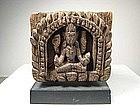 Small Wood Relief, Himalayan Region, 16th C.