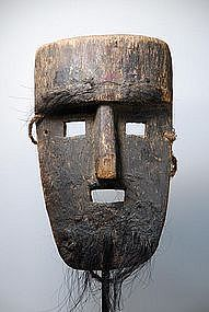 Unusual and Very Old Mask, Himalayan Region