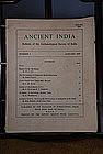 Ancient India Bulletin, No 1, Jan. 1946