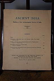 Ancient India Bulletin, No 14, Year 1958