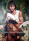 A FILIPINO HORSEMAN by JEAN-CLAUDE MAULEON