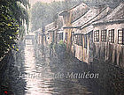 A VIEW OF SUZHOU III by JEAN-CLAUDE 