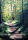 FALL LANDSCAPE III by JEAN-CLAUDE MAULEON