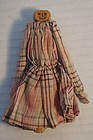 """A clothes pin doll with a simple pencil face 4"""" early"""