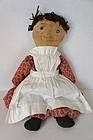 Volland Raggedy Ann cloth doll early