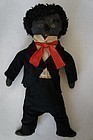 Antique boy cloth doll with original cloths and a great face.