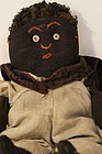Little guy, lots of character black doll old and nice antique