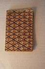 Tiny antique wallpaper book 1821 nice condition