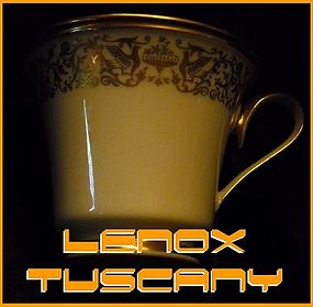 Lenox Tuscany Cup & Saucer  MSRP: $45.99