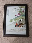 Rare Zhushan Bayou Famille Rose Plaque (ex Christies)