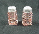 Manhattan Salt & Pepper Shakers - Pink