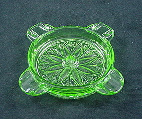 Sunflower Ashtray - Green