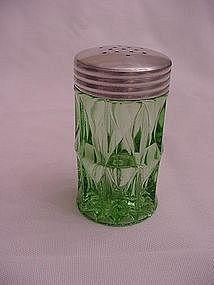 Windsor Green Salt & Pepper Shakers