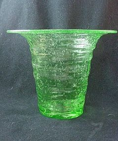 Consolidated Catalonian Emerald Hat Vase