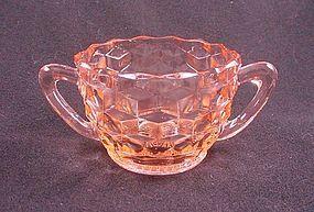 Cube Small Sugar Bowl - Pink