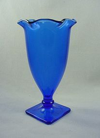 Mt Pleasant Cobalt  Vase