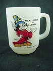 FireKing Mickey Mouse Fantasia Mug
