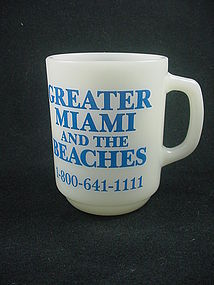 FireKing Miami Beach Mug