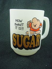 FireKing Ziggy Sugar Mug