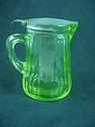 Kitchenware - Hocking Green Syrup Pitcher