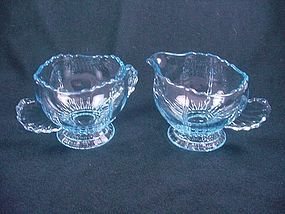 Radiance Sugar & Creamer Set - Ice Blue