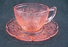 Cherry Blosso Cup & Saucer - Pink