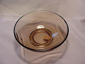 Fostoria Horizon 5 inch Berry Bowl - Cinnamon
