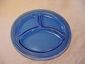 Mt Pleasant Cobalt Grill Plate