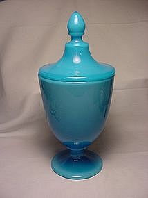 Cambridge Azurite Candy Jar & Cover