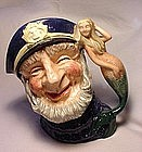 Royal Doulton  Old Salt Toby Jug  -  D6551