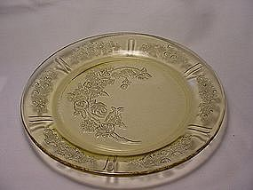 Sharon  Dinner Plate - Amber