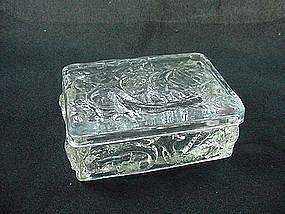 Consolidated Glass Santa Maria Covered Box