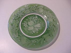 Consolidated Glass Five Fruits Plate