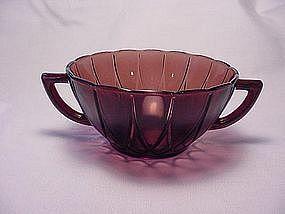 Newport Hairpin Amethyst Cream Soup Bowl